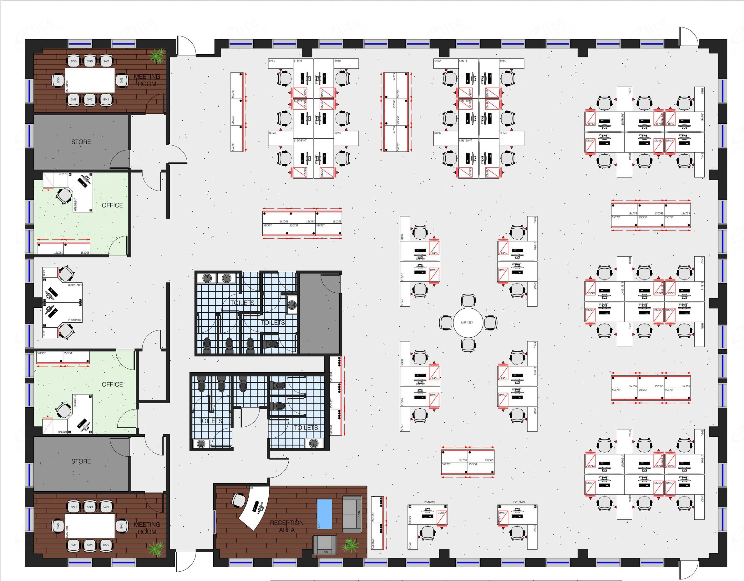 Office space planning and consultancy office furniture Free office layout planner