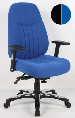 Barcelona Deluxe Fabric Task Chair