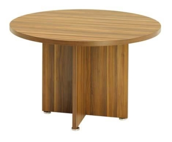 Morecroft round meeting table 1200mm radius with 36mm top