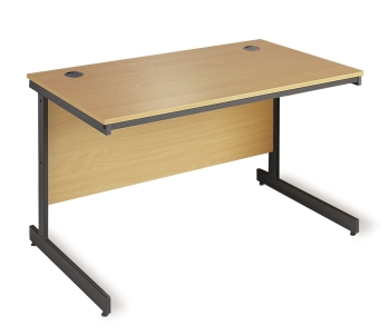 Maestro Rectangular Desk with Cantilever Leg