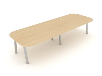 Linnea Bench Boardroom/Conference Table with Shared centre leg frame