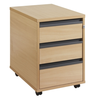 Maestro M 3 Drawer Mobile Pedestal