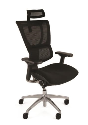 Mirus Ergonomic Mesh Office Chair with Headrest