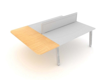 Linnea Bench Straight Extensions with screen