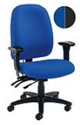 Vista high back heavy duty chair with T shape arms