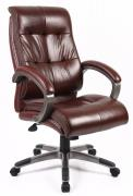 Catania Leather Faced High Back Manager Chair