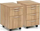 Aura 2 or 3 Drawer Mobile Pedestal