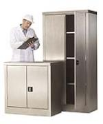 Stainless Steel Storage Cupboard