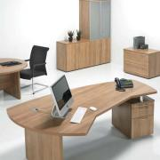 Aura Complete Executive Office Package with Meeting Table