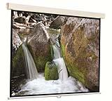 Manual Wall Projection Screen Square Format