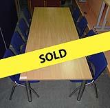 Used 2400mm Boardroom Table Package
