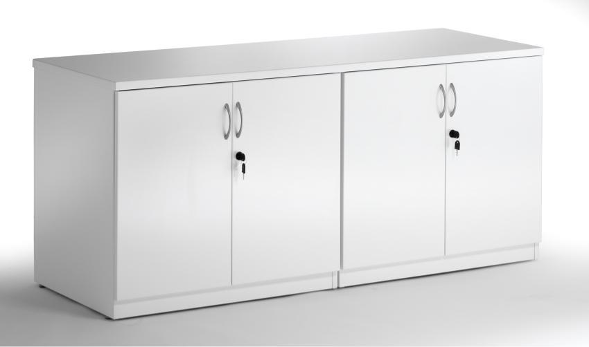 White Office Storage Cabinet Minimalist | yvotube.com